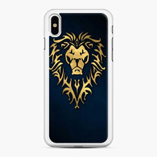 Load image into Gallery viewer, Alliance World Of Warcraft Icon Blue iPhone X/XS Case