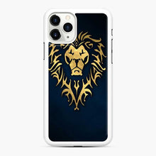 Load image into Gallery viewer, Alliance World Of Warcraft Icon Blue iPhone 11 Pro Case