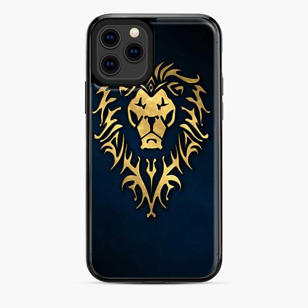 Alliance World Of Warcraft Icon Blue iPhone 11 Pro Case