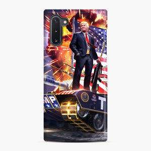 American Pride and Military of Donald Trump Samsung Galaxy Note 10 Case, Snap Case | Webluence.com