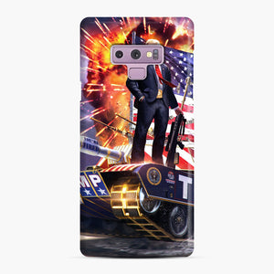 American Pride and Military of Donald Trump Samsung Galaxy Note 9 Case, Snap Case | Webluence.com