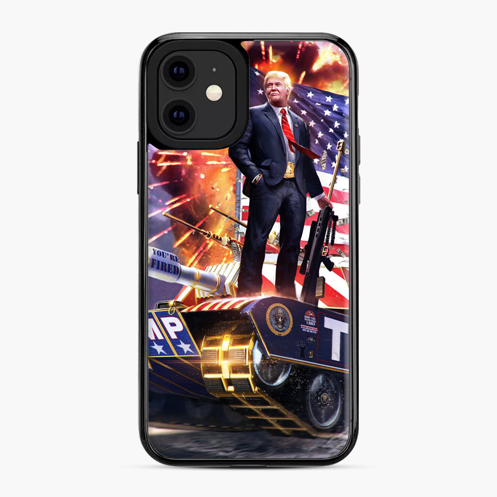 American Pride and Military of Donald Trump iPhone 11 Case, Black Plastic Case | Webluence.com