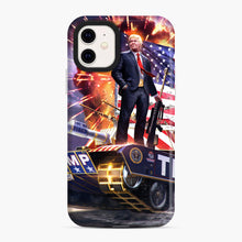 Load image into Gallery viewer, American Pride and Military of Donald Trump iPhone 11 Case, Snap Case | Webluence.com