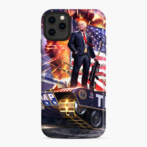 American Pride and Military of Donald Trump iPhone 11 Pro Max Case, Snap Case | Webluence.com