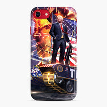 Load image into Gallery viewer, American Pride and Military of Donald Trump iPhone 7/8 Case, Snap Case | Webluence.com