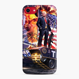 American Pride and Military of Donald Trump iPhone 7/8 Case, Snap Case | Webluence.com