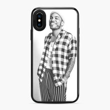 Load image into Gallery viewer, Anderson Paak White And Black iPhone X/XS Case