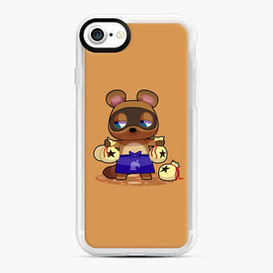 Animal Crossing Character Tom Nook iPhone 7/8 Case, White Rubber Case | Webluence.com