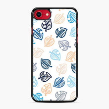 Load image into Gallery viewer, Animal Crossing Motif Blue iPhone 7/8 Case, Black Plastic Case | Webluence.com