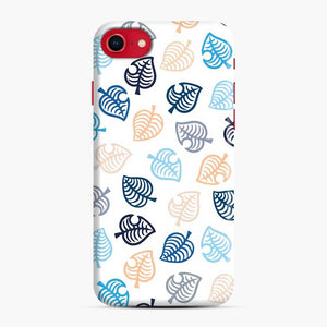 Animal Crossing Motif Blue iPhone 7/8 Case, Snap Case | Webluence.com