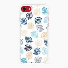 Load image into Gallery viewer, Animal Crossing Motif Blue iPhone 7/8 Case, White Plastic Case | Webluence.com