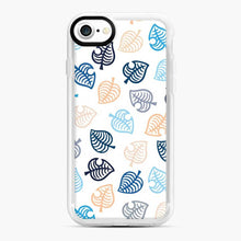 Load image into Gallery viewer, Animal Crossing Motif Blue iPhone 7/8 Case, White Rubber Case | Webluence.com