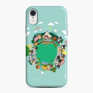 Animal Crossing Pocket Camp iPhone XR Case, Snap Case