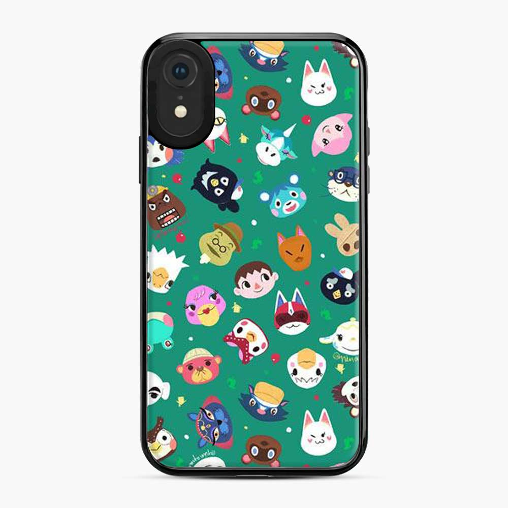 Animal Crossing Qr Pattern iPhone XR Case