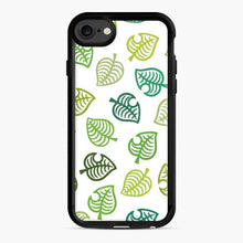 Load image into Gallery viewer, Animal crossing green simple iPhone 7/8 Case, Black Rubber Case | Webluence.com