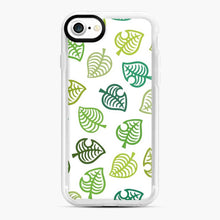 Load image into Gallery viewer, Animal crossing green simple iPhone 7/8 Case, White Rubber Case | Webluence.com