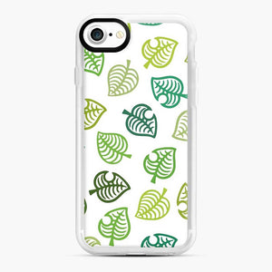 Animal crossing green simple iPhone 7/8 Case, White Rubber Case | Webluence.com