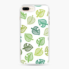 Load image into Gallery viewer, Animal crossing green simple iPhone 7 Plus/8 Plus Case, White Plastic Case | Webluence.com