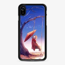 Load image into Gallery viewer, Anime Boy Swing Umbrella iPhone XR Case