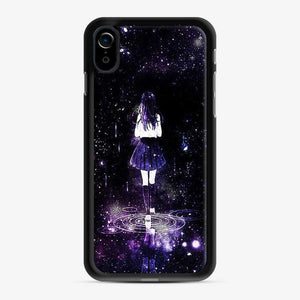 Anime In School Girl iPhone XR Case