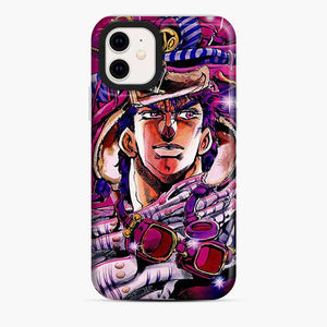 Anime Jojos Bizarre Adventure Purple iPhone 11 Case
