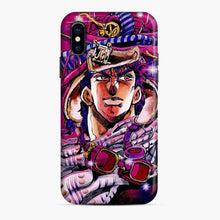 Load image into Gallery viewer, Anime Jojos Bizarre Adventure Purple iPhone X/XS Case