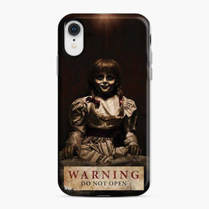 Annabelle Warning Do Not Open 1 iPhone XR Case