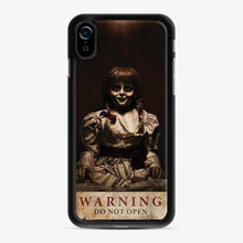 Load image into Gallery viewer, Annabelle Warning Do Not Open 1 iPhone XR Case