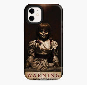 Annabelle Warning Do Not Open Dolls iPhone 11 Case