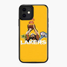 Load image into Gallery viewer, Anthony Davis La Lakers Beach Yellow iPhone 11 Case