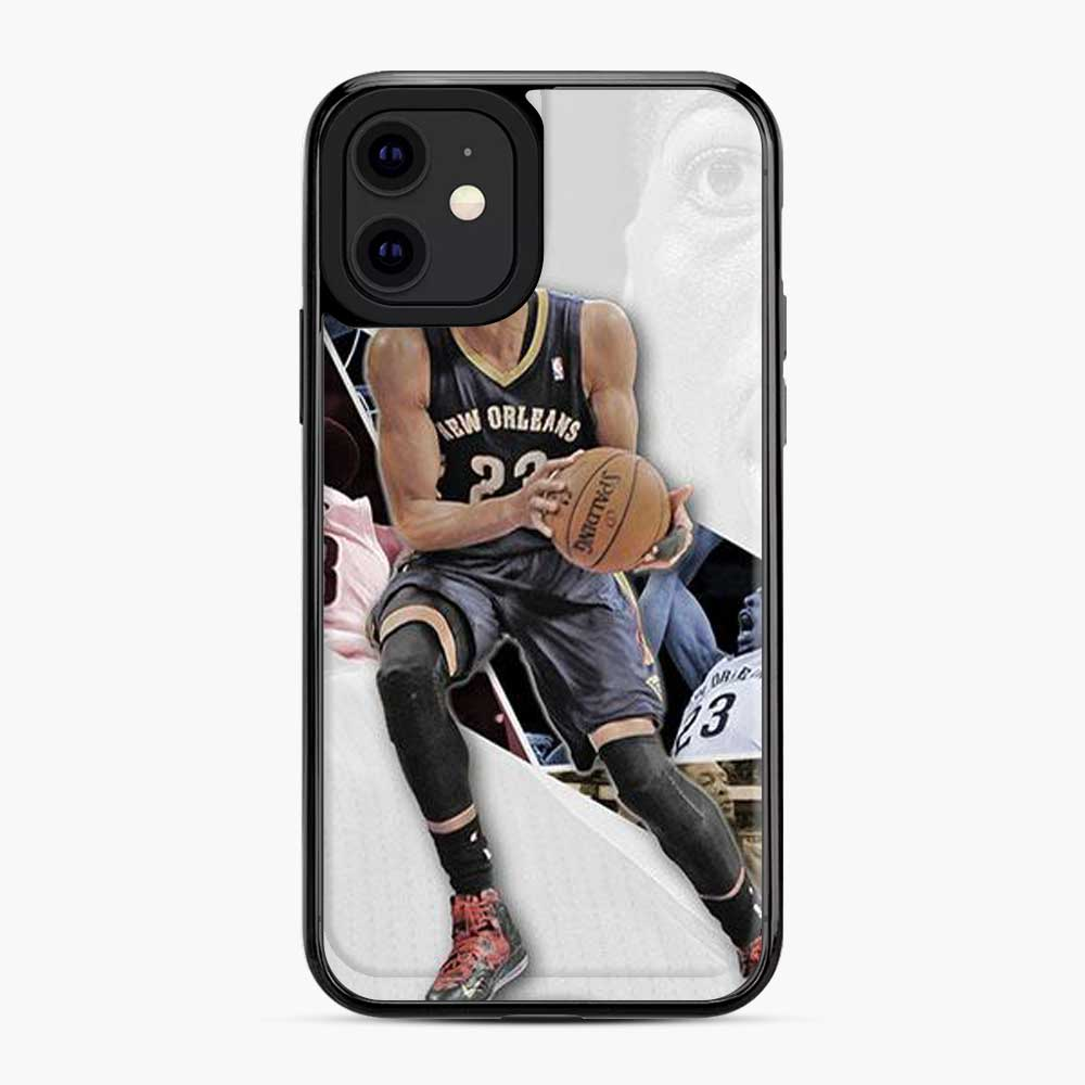 Anthony Davis La Lakers Logo Grey iPhone 11 Case
