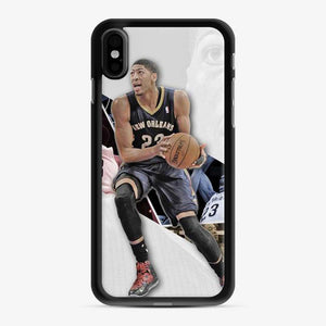 Anthony Davis La Lakers Logo Grey iPhone X/XS Case