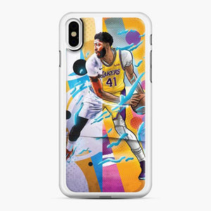 Anthony Davis La Lakers iPhone X/XS Case