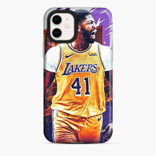 Load image into Gallery viewer, Anthony Davis Lakers City Yellow iPhone 11 Case
