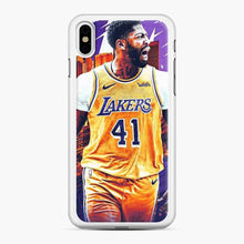 Load image into Gallery viewer, Anthony Davis Lakers City Yellow iPhone X/XS Case