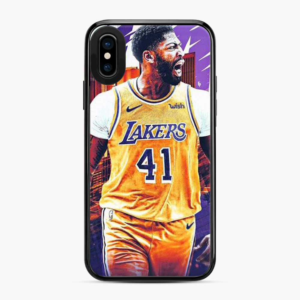 Anthony Davis Lakers City Yellow iPhone X/XS Case