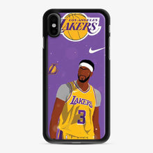 Load image into Gallery viewer, Anthony Davis Lakers iPhone X/XS Case