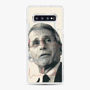 Anthony Fauci Became America's Doctor Samsung Galaxy S10 Plus Case, White Plastic Case | Webluence.com