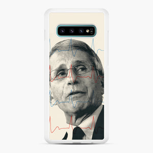 Anthony Fauci Became America's Doctor Samsung Galaxy S10 Plus Case, White Rubber Case | Webluence.com