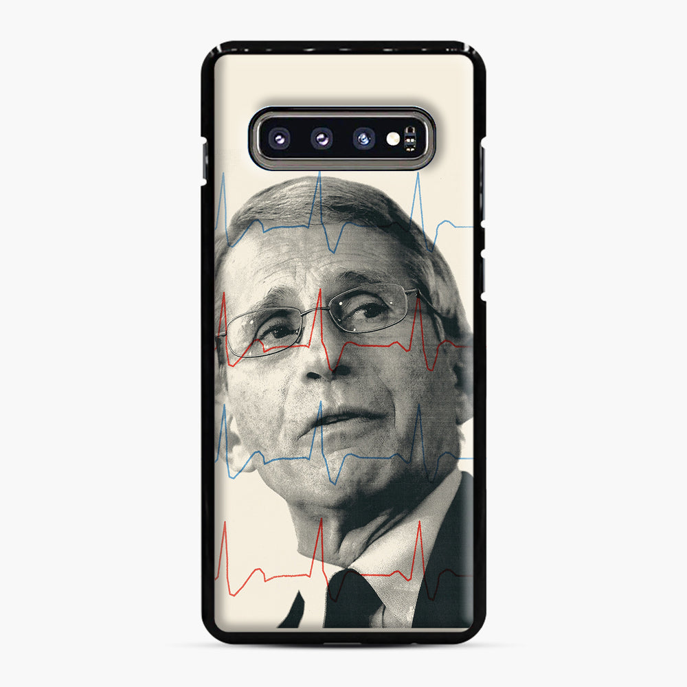 Anthony Fauci Became America's Doctor Samsung Galaxy S10 Plus Case, Black Plastic Case | Webluence.com