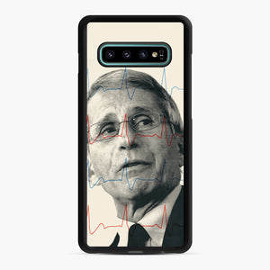 Anthony Fauci Became America's Doctor Samsung Galaxy S10 Plus Case, Black Rubber Case | Webluence.com