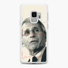 Load image into Gallery viewer, Anthony Fauci Became America's Doctor Samsung Galaxy S9 Case, White Rubber Case | Webluence.com