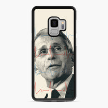 Load image into Gallery viewer, Anthony Fauci Became America's Doctor Samsung Galaxy S9 Case, Black Rubber Case | Webluence.com