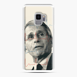 Anthony Fauci Became America's Doctor Samsung Galaxy S9 Case, White Plastic Case | Webluence.com