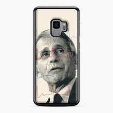 Load image into Gallery viewer, Anthony Fauci Became America's Doctor Samsung Galaxy S9 Case, Black Plastic Case | Webluence.com