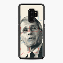Load image into Gallery viewer, Anthony Fauci Became America's Doctor Samsung Galaxy S9 Plus Case, Black Plastic Case | Webluence.com
