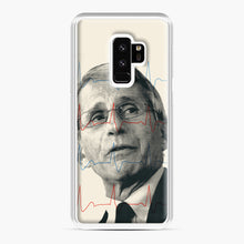 Load image into Gallery viewer, Anthony Fauci Became America's Doctor Samsung Galaxy S9 Plus Case, White Plastic Case | Webluence.com