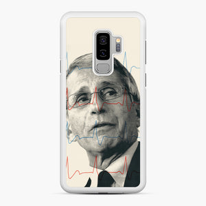 Anthony Fauci Became America's Doctor Samsung Galaxy S9 Plus Case, White Rubber Case | Webluence.com