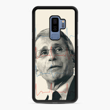 Load image into Gallery viewer, Anthony Fauci Became America's Doctor Samsung Galaxy S9 Plus Case, Black Rubber Case | Webluence.com