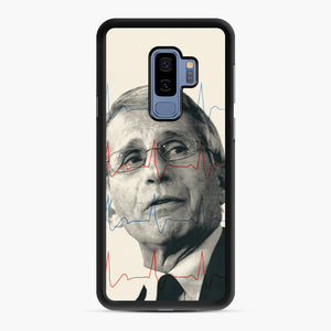 Anthony Fauci Became America's Doctor Samsung Galaxy S9 Plus Case, Black Rubber Case | Webluence.com